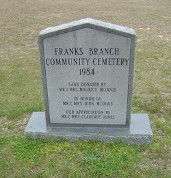 Franks Branch Community Cemetery