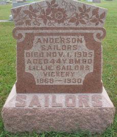 Lillie <i>McColley</i> Sailors-Vickery