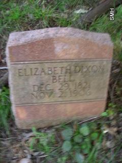 Elizabeth Dixon <i>Kennedy</i> Bell