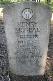 PFC Henry McNeal