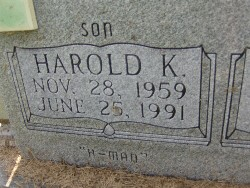 Harold Kenneth H-Man Colwell