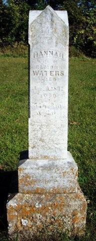Hannah <i>Lane</i> Waters