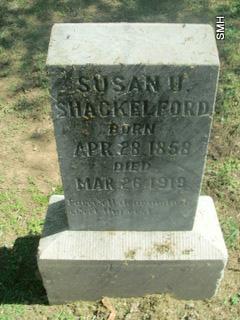 SUSAN JANE <i>DERRYBERRY</i> SHACKELFORD