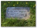 Ruth Ann Annie <i>SWAN</i> Brosius