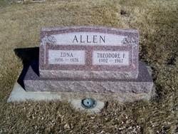 Edna <i>Paulsen</i> Allen