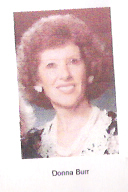 Mrs Donna Mae <i>Jennett</i> Burr