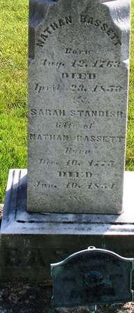 Sarah <i>Standish</i> Bassett