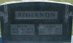 Martha Ann Mattie <i>Ritchey</i> Bohanon