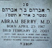 Dr Abram Berry