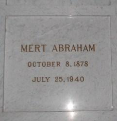Mert Abraham