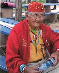Willard Varnell Navajo Code Talker Oliver