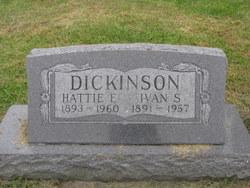 Hattie E <i>Primmer</i> Dickinson