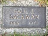 Paul J. Backman