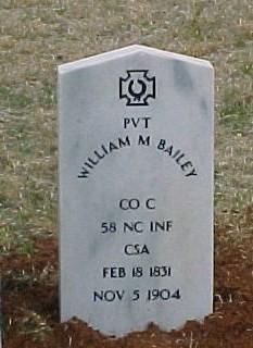 Pvt William McThaddeus Bailey