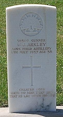 Gunner W. J. Arkley