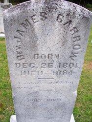 Rev James Reeves Barrow, Sr