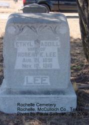 Clara Ethyl <i>Waddill</i> Lee