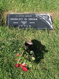 Mrs Shirley <i>Dubitsky</i> Sparr