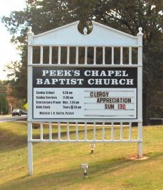 Peeks Chapel Church Cemetery