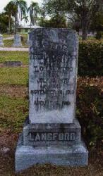 Virginia Caroline <i>Barden</i> Langford
