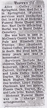 Alice <i>Phillips</i> Coffey