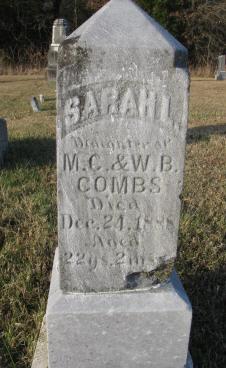 Sarah L Combs