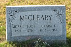 Clara E McCleary