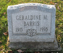 Geraldine Mae <i>McCleary</i> Barris