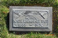 Katherine Katie <i>Gough</i> Brimhall-Fait