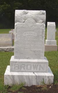 Nannie Belle <i>Johnson</i> Brown