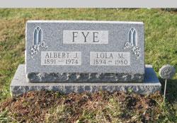 Albert Jesse Bob Fye