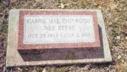 Carrie Mae <i>Reese</i> Chitwood