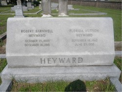 Martha Florida <i>Hutson</i> Heyward