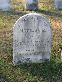 Matilda <i>Lowe</i> Durham