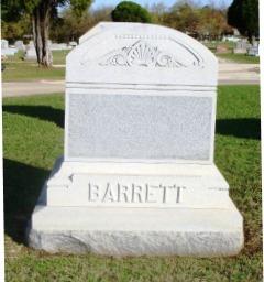 Willie <i>Marshall</i> Barrett