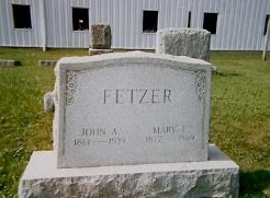 Mary E. <i>Over</i> Fetzer