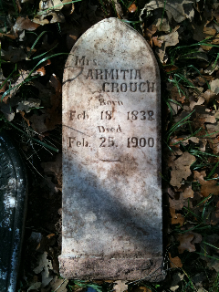 Armitia <i>Asher</i> Crouch