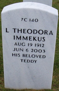 L Theodora Immekus