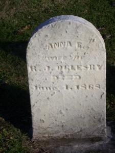 Anna Elizabeth <i>White</i> Oglesby