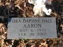 Ora Daphna <i>Hall</i> Aaron
