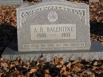 Andrew Benjamin AB Balentine
