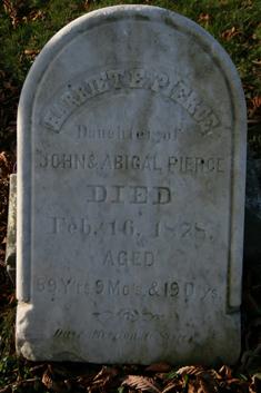 Harriet E Pierce