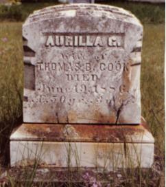 Aurilla G <i>Sullivan</i> Cook