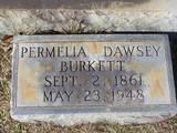 Permelia Elizabeth <i>Dawsey</i> Burkett