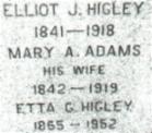 Mary Ann <i>Adams</i> Higley