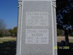 Zelma Tharp Watson