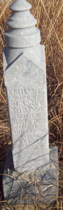 Emily E <i>Mizer</i> Drake