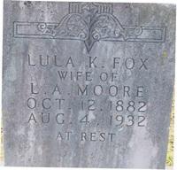Lula K. <i>Fox</i> Moore