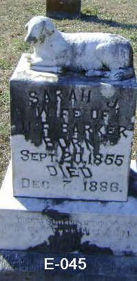 Sarah Jane <i>Chambers</i> Barker