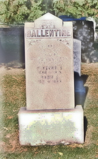 Emma C <i>VanHorn</i> Ballentine